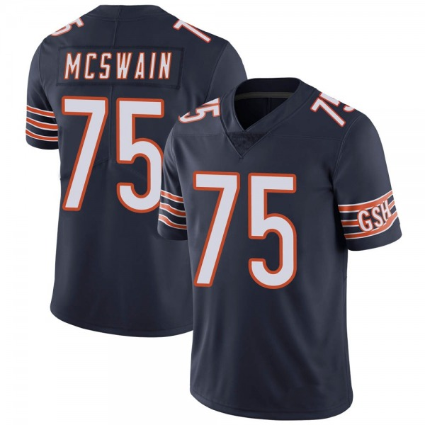 Trevon McSwain Chicago Bears Limited Navy Team Color Vapor Untouchable Jersey