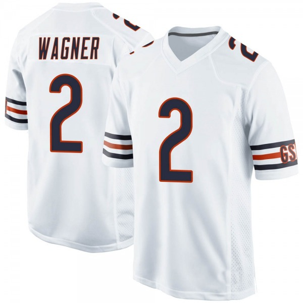 Youth Ahmad Wagner Chicago Bears Game White Jersey
