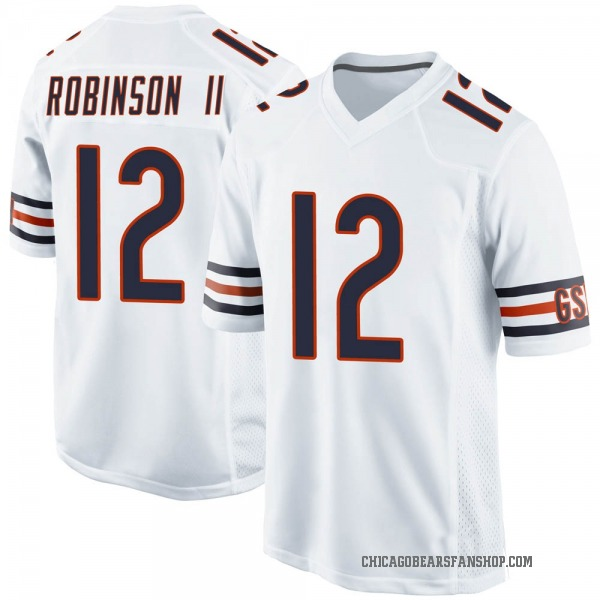 Youth Allen Robinson Chicago Bears Game White Jersey
