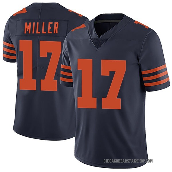 Youth Anthony Miller Chicago Bears Limited Navy Blue Alternate Vapor Untouchable Jersey