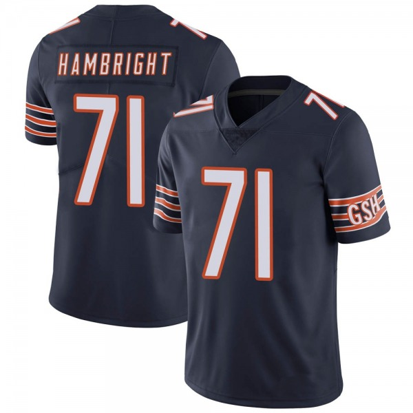 Youth Arlington Hambright Chicago Bears Limited Navy Team Color Vapor Untouchable Jersey
