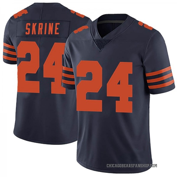Youth Buster Skrine Chicago Bears Limited Navy Blue Alternate Vapor Untouchable Jersey