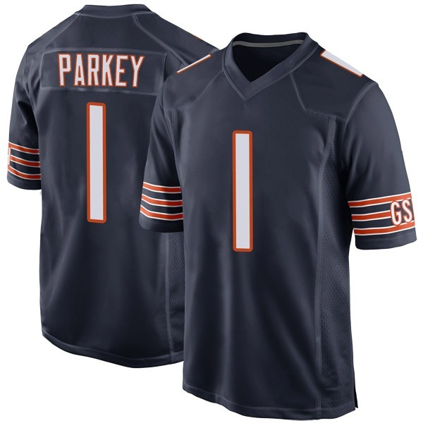 Youth Cody Parkey Chicago Bears Game Navy Team Color Jersey