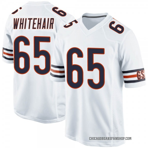 Youth Cody Whitehair Chicago Bears Game White Jersey