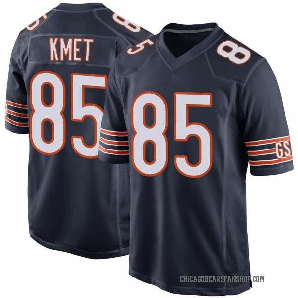 Youth Cole Kmet Chicago Bears Game Navy Team Color Jersey