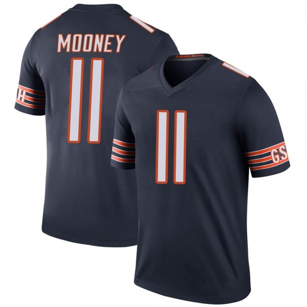 Youth Darnell Mooney Chicago Bears Legend Navy Color Rush Jersey