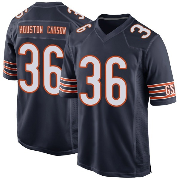 Youth DeAndre Houston-Carson Chicago Bears Game Navy Team Color Jersey