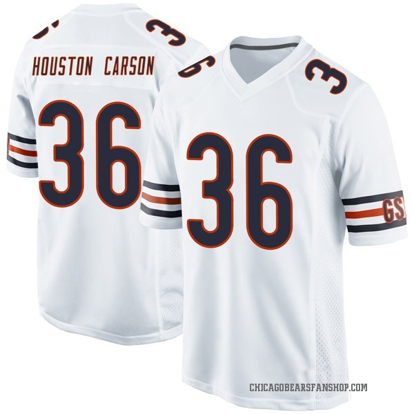 Youth DeAndre Houston-Carson Chicago Bears Game White Jersey