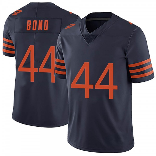Youth Devante Bond Chicago Bears Limited Navy Blue Alternate Vapor Untouchable Jersey