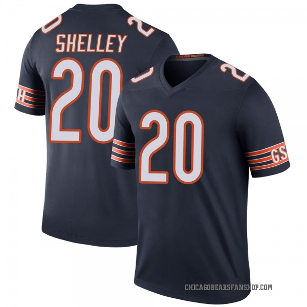 Youth Duke Shelley Chicago Bears Legend Navy Color Rush Jersey