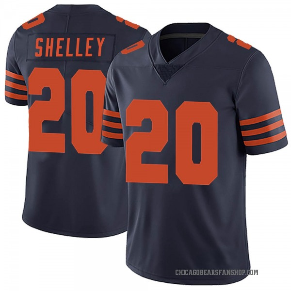 Youth Duke Shelley Chicago Bears Limited Navy Blue Alternate Vapor Untouchable Jersey
