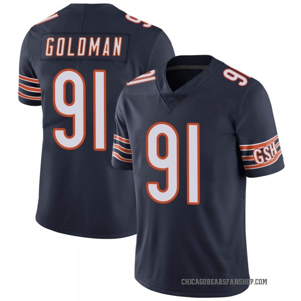Youth Eddie Goldman Chicago Bears Limited Navy Team Color Vapor Untouchable Jersey