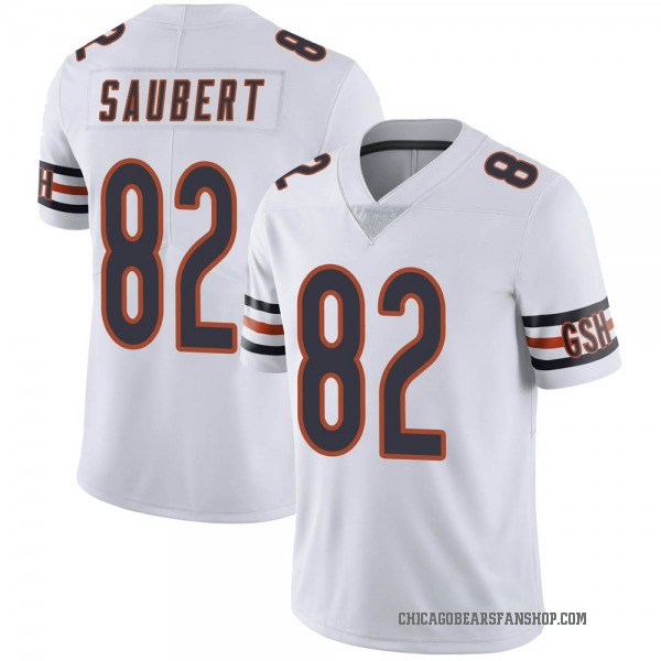 Youth Eric Saubert Chicago Bears Limited White Vapor Untouchable Jersey