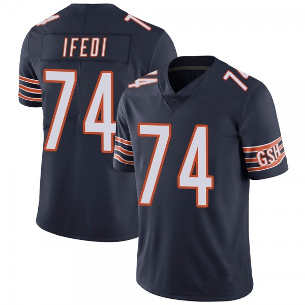 Youth Germain Ifedi Chicago Bears Limited Navy Team Color Vapor Untouchable Jersey