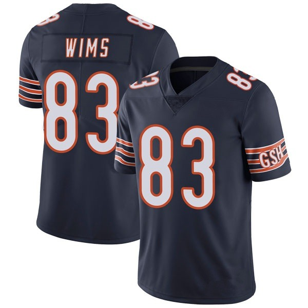 Youth Javon Wims Chicago Bears Limited Navy Team Color Vapor Untouchable Jersey