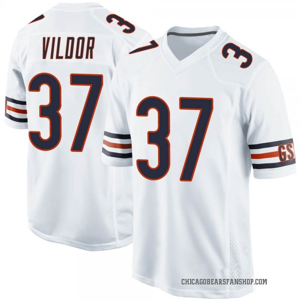 Youth Kindle Vildor Chicago Bears Game White Jersey