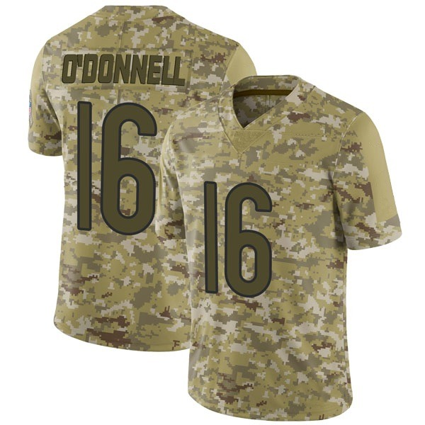 Youth Pat O'Donnell Chicago Bears Limited Camo 2018 Salute to Service Jersey