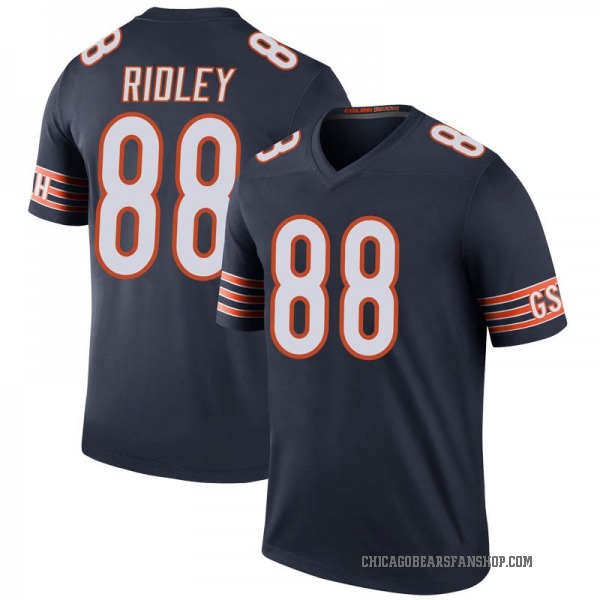 Youth Riley Ridley Chicago Bears Legend Navy Color Rush Jersey