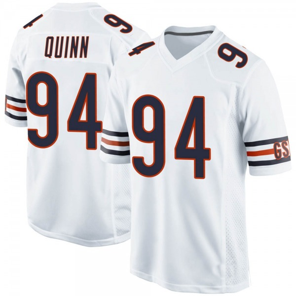 Youth Robert Quinn Chicago Bears Game White Jersey