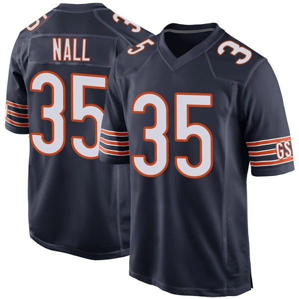 Youth Ryan Nall Chicago Bears Game Navy Team Color Jersey