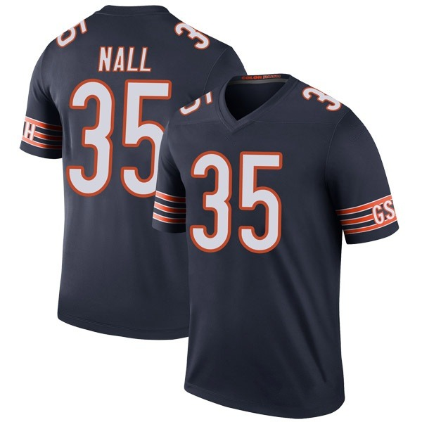 Youth Ryan Nall Chicago Bears Legend Navy Color Rush Jersey