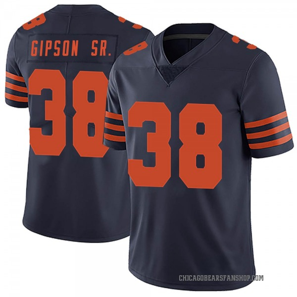 Youth Tashaun Gipson Chicago Bears Limited Navy Blue Alternate Vapor Untouchable Jersey
