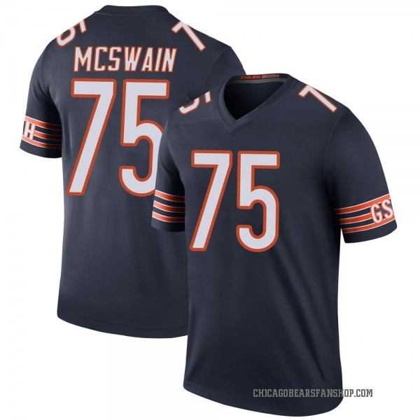 Youth Trevon McSwain Chicago Bears Legend Navy Color Rush Jersey