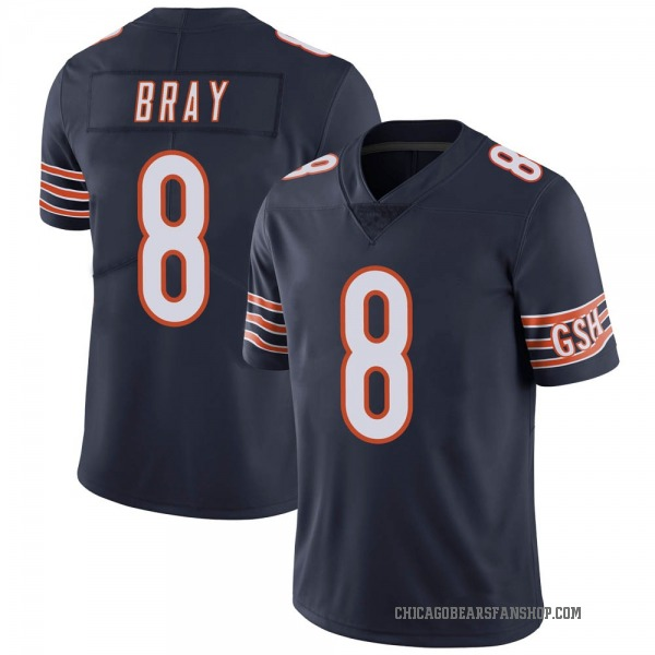 Youth Tyler Bray Chicago Bears Limited Navy Team Color Vapor Untouchable Jersey