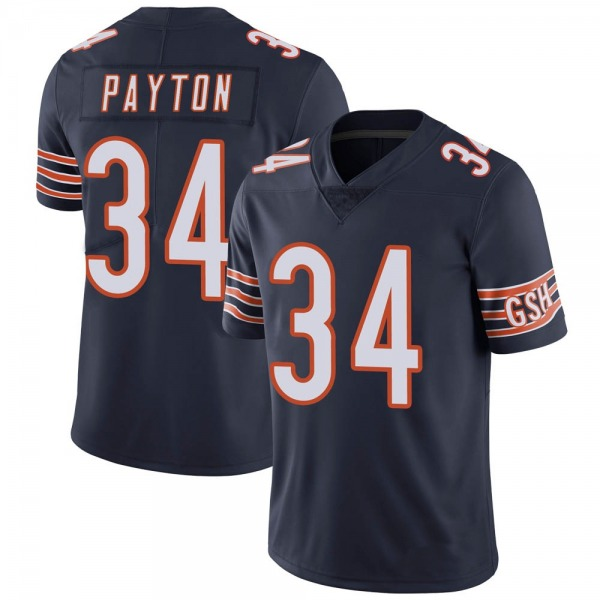 Youth Walter Payton Chicago Bears Limited Navy Team Color Vapor Untouchable Jersey